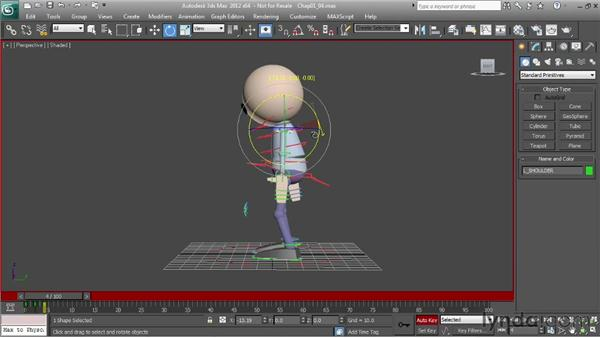 Learning the basics of posing characters: Character Animation: 3ds Max