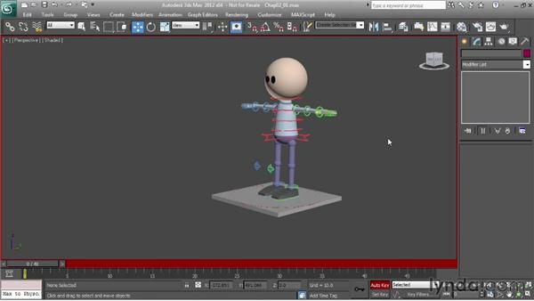 Understanding forces and character motion: Character Animation: 3ds Max
