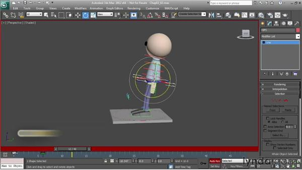 Understanding drag: Character Animation: 3ds Max