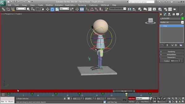 Working with secondary motion: Character Animation: 3ds Max