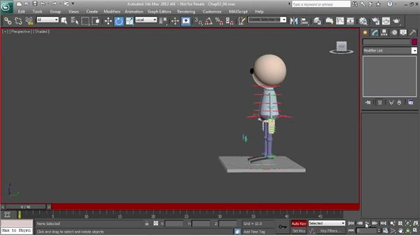 Bringing the character to life: Character Animation: 3ds Max