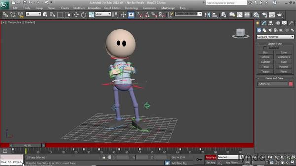 Moving holds: Character Animation: 3ds Max