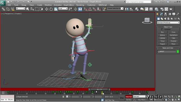 Animating a wave: Character Animation: 3ds Max