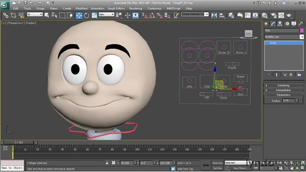 Overview of the mouth controls: Character Animation: 3ds Max