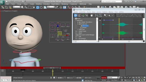 Animating vowels: O, U, and Y: Character Animation: 3ds Max
