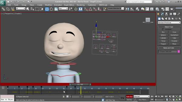 Animating lip sync: the eyes: Character Animation: 3ds Max