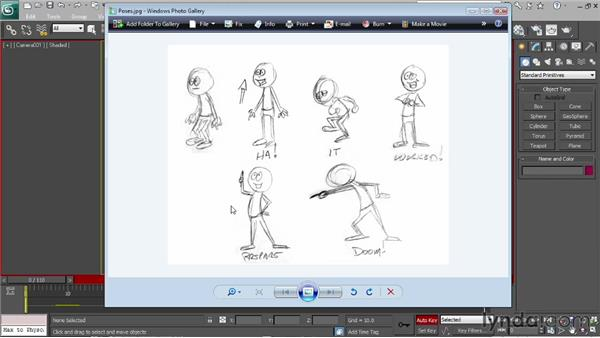 Creating the main poses: Character Animation: 3ds Max
