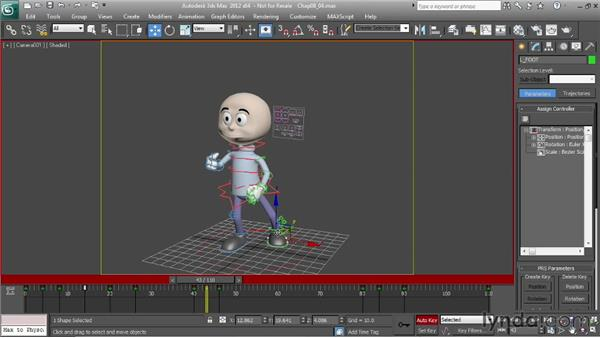 Creating weight: Character Animation: 3ds Max
