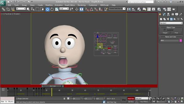 Animating dialogue: Character Animation: 3ds Max
