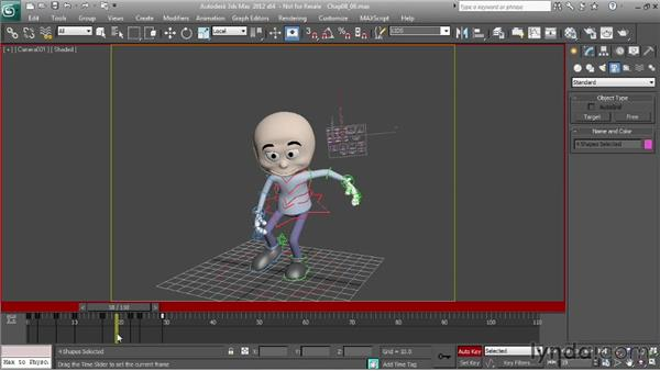 Adding blinks: Character Animation: 3ds Max