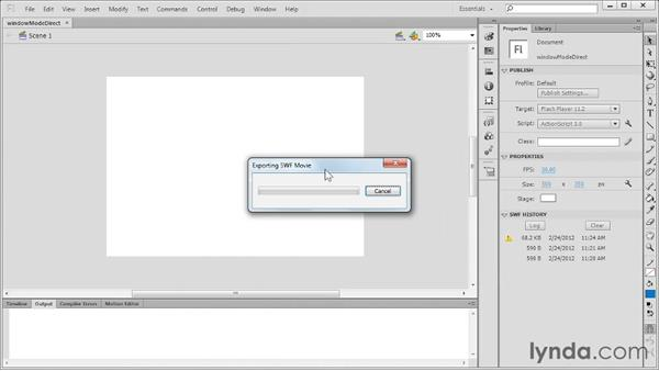 Welcome: Flash Professional CS6 New Features