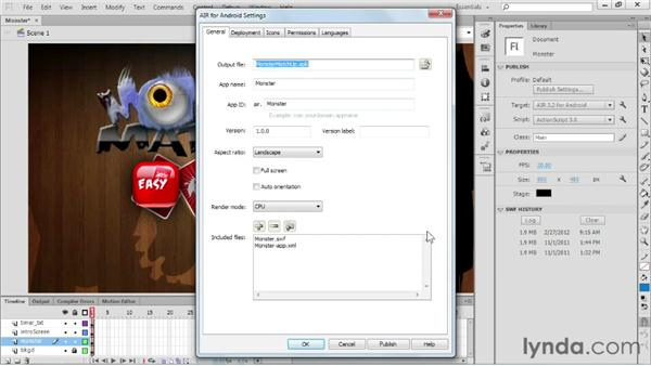 Exploring captive AIR runtime support for Android, OS X, and Windows: Flash Professional CS6 New Features