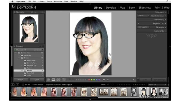 Keeping your catalog current by synchronizing folders: Lightroom 4 Catalogs in Depth