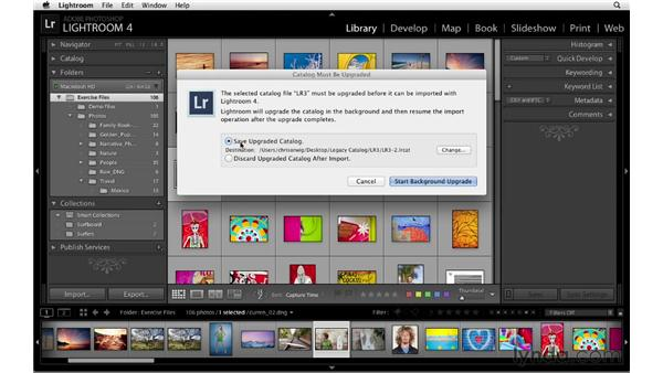 Upgrading legacy catalogs: Lightroom 4 Catalogs in Depth