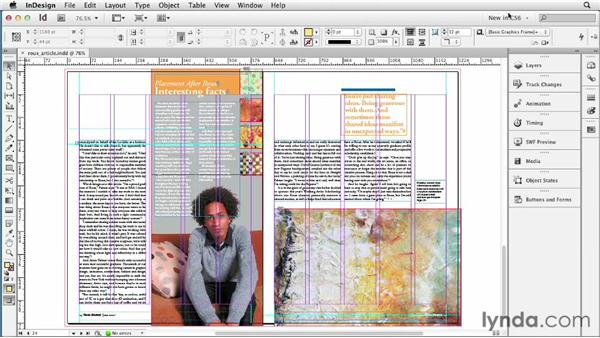 Exploring interface tweaks: InDesign CS6 New Features