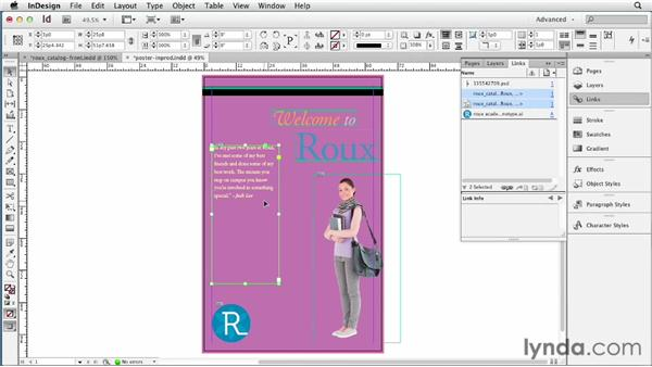 Mapping styles	: InDesign CS6 New Features