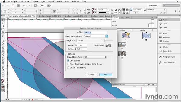 Understanding flexible layouts: InDesign CS6 New Features