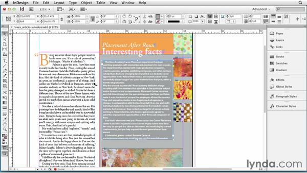Auto-sizing text frames: InDesign CS6 New Features