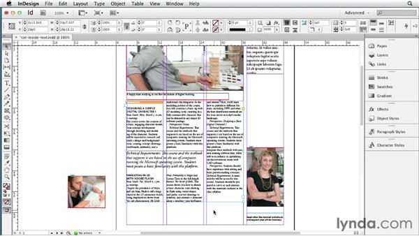 Fitting frames to different types of text content: InDesign CS6 New Features
