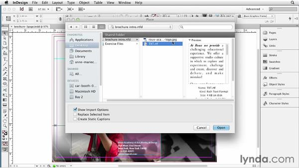 : InDesign CS6 New Features
