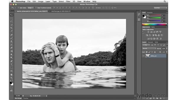 Getting familiar with and customizing the interface: Photoshop CS6 for Photographers New Features