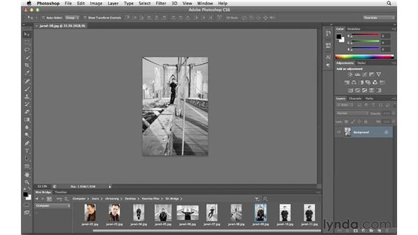 Working with Mini Bridge: Photoshop CS6 for Photographers New Features