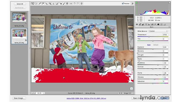 Updating the processed version of legacy files: Photoshop CS6 for Photographers New Features