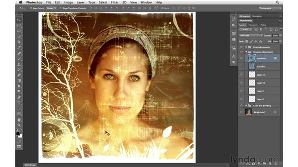 Blending and renaming layers: Photoshop CS6 for Photographers New Features
