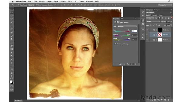 Filtering and finding layers: Photoshop CS6 for Photographers New Features