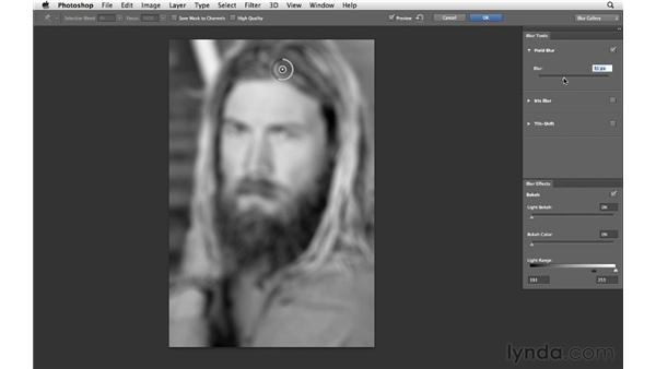 Adding Field Blur: Photoshop CS6 for Photographers New Features