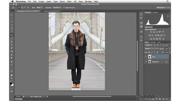 Making effective selections for Content-Aware Move: Photoshop CS6 for Photographers New Features