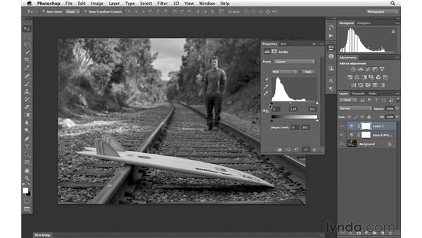 Using the Properties panel: Photoshop CS6 for Photographers New Features