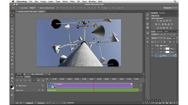 Thinking creatively about working with video: Photoshop CS6 for Photographers New Features