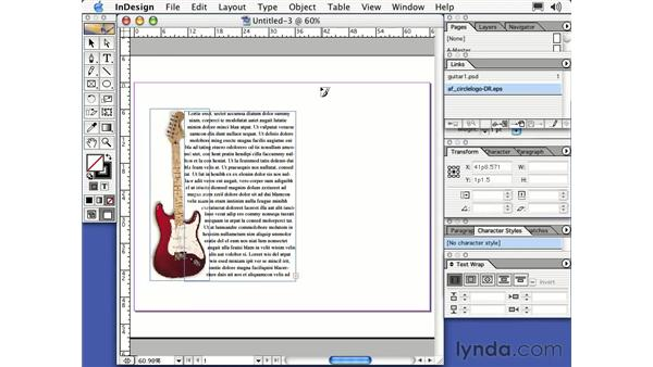 placing art: Learning InDesign 2