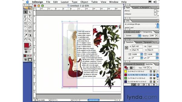 clipping paths: Learning InDesign 2