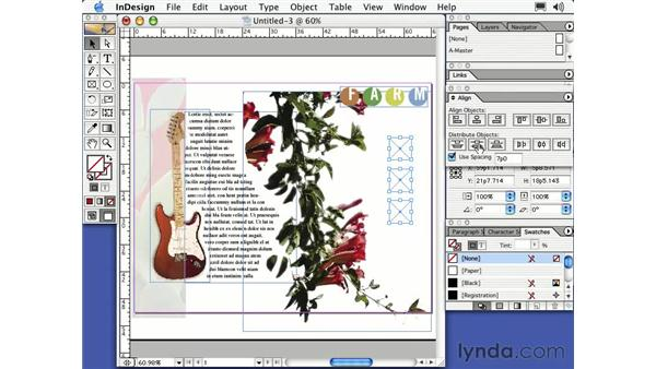 compound path frames: Learning InDesign 2
