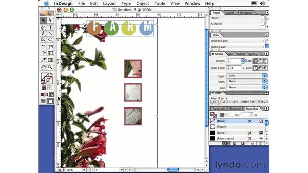 stroke palette: Learning InDesign 2