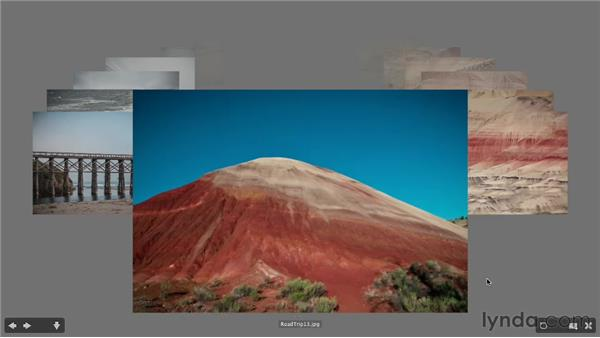 Using Review mode to filter out rejected images: Photoshop CS6 Essential Training
