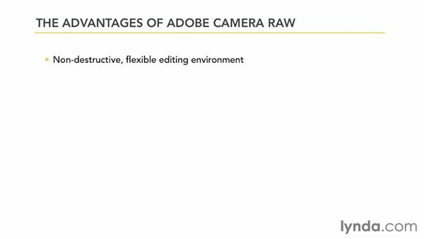 Starting in Camera Raw instead of Photoshop: Photoshop CS6 Essential Training