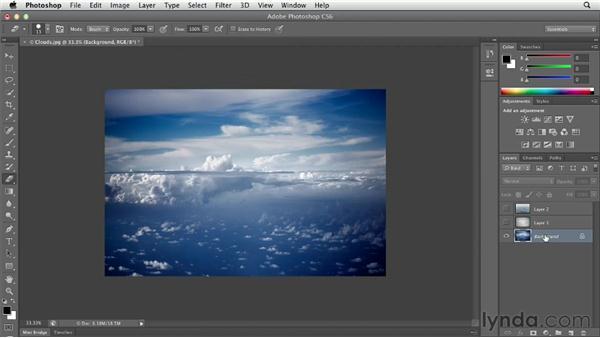 Exploring layer basics: Photoshop CS6 Essential Training