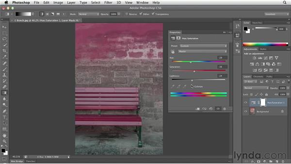 Starting with a preset: Photoshop CS6 Essential Training