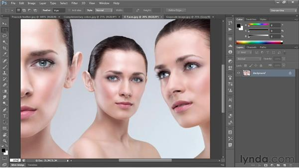 Entering a custom zoom value: Photoshop CS6 One-on-One: Fundamentals