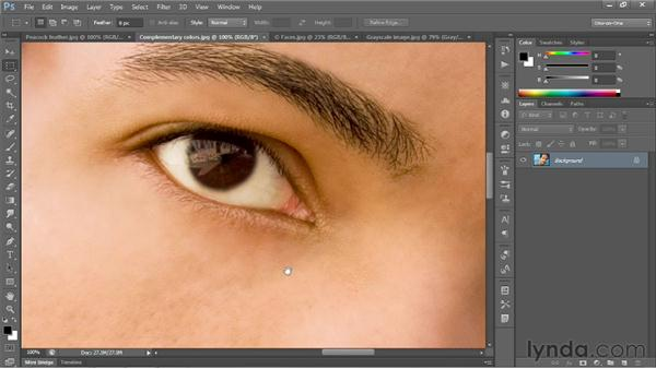 Scrolling and panning images: Photoshop CS6 One-on-One: Fundamentals