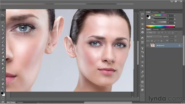 Cycling between screen modes: Photoshop CS6 One-on-One: Fundamentals