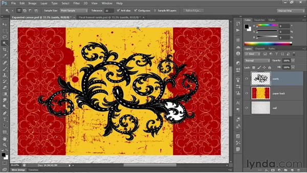 Opacity, history, and blend mode: Photoshop CS6 One-on-One: Fundamentals