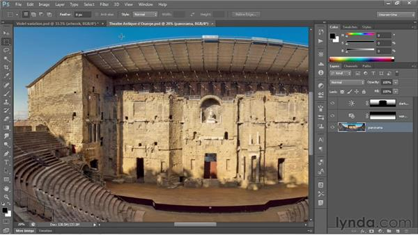 Saving print images to TIFF: Photoshop CS6 One-on-One: Fundamentals