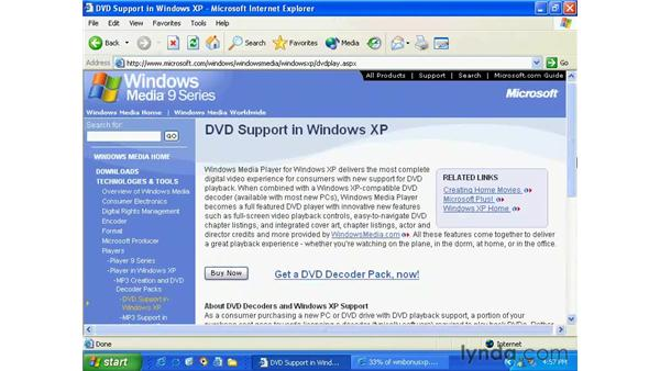 customizing media player 9: Windows XP Essential Training