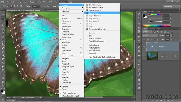 Editing adjustment layers: Photoshop CS6 One-on-One: Fundamentals