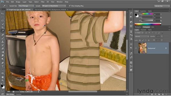 Identifying a color cast: Photoshop CS6 One-on-One: Fundamentals