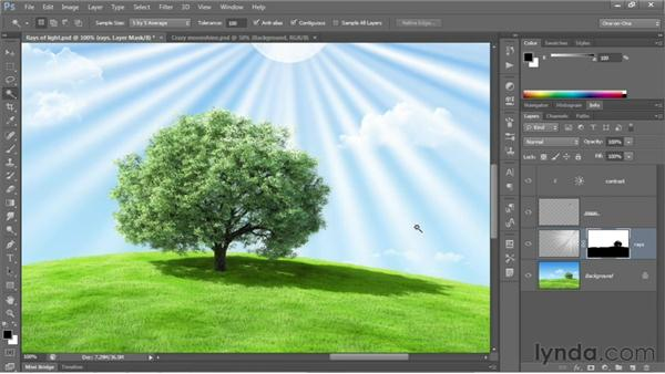 Making selective modifications: Photoshop CS6 One-on-One: Fundamentals